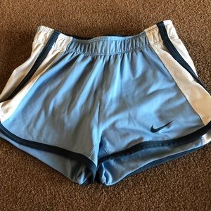 Blue Nike tennis shorts size XS